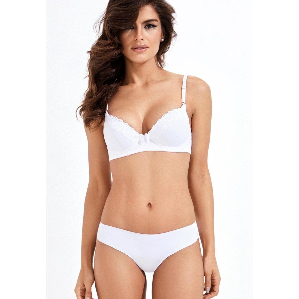 39dce14b9 Fio Sem Costura Mondress - Branco - Compre Agora