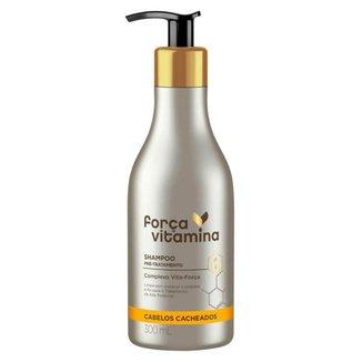 Força Vitamina Cacheados Shampoo Pré-Tratamento 300ml