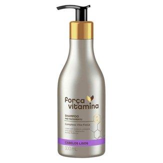 Força Vitamina Lisos Shampoo Pré-Tratamento 300ml