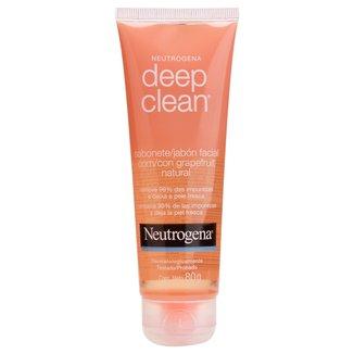Gel de Limpeza Neutrogena Deep Clean Grapefruit 80g
