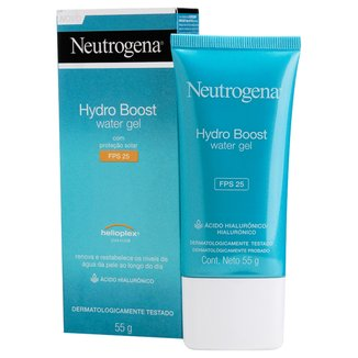 Gel Hidratante Facial Neutrogena Hydro Boost Water Gel FPS 25 55g
