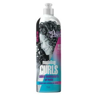 Gel Líquido Soul Power - Modeling Curls 315ml