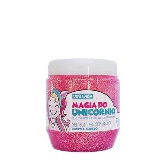 Gel para Cabelo Vini Kids Magia do Unicórnio com Glitter 220g Vini Lady