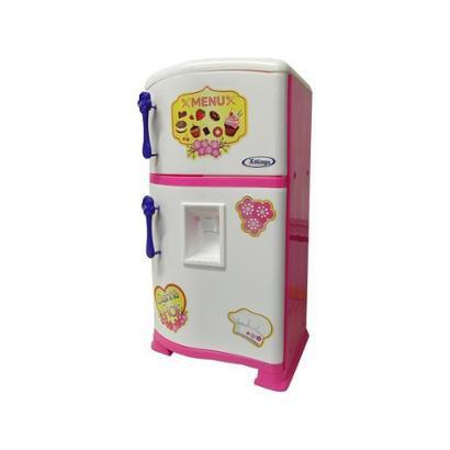 Geladeira de Brinquedo Pop Casa Flor Estilo