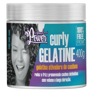 Gelatina Ativadora de Cachos Soul Power - Curly Gelatine 400g