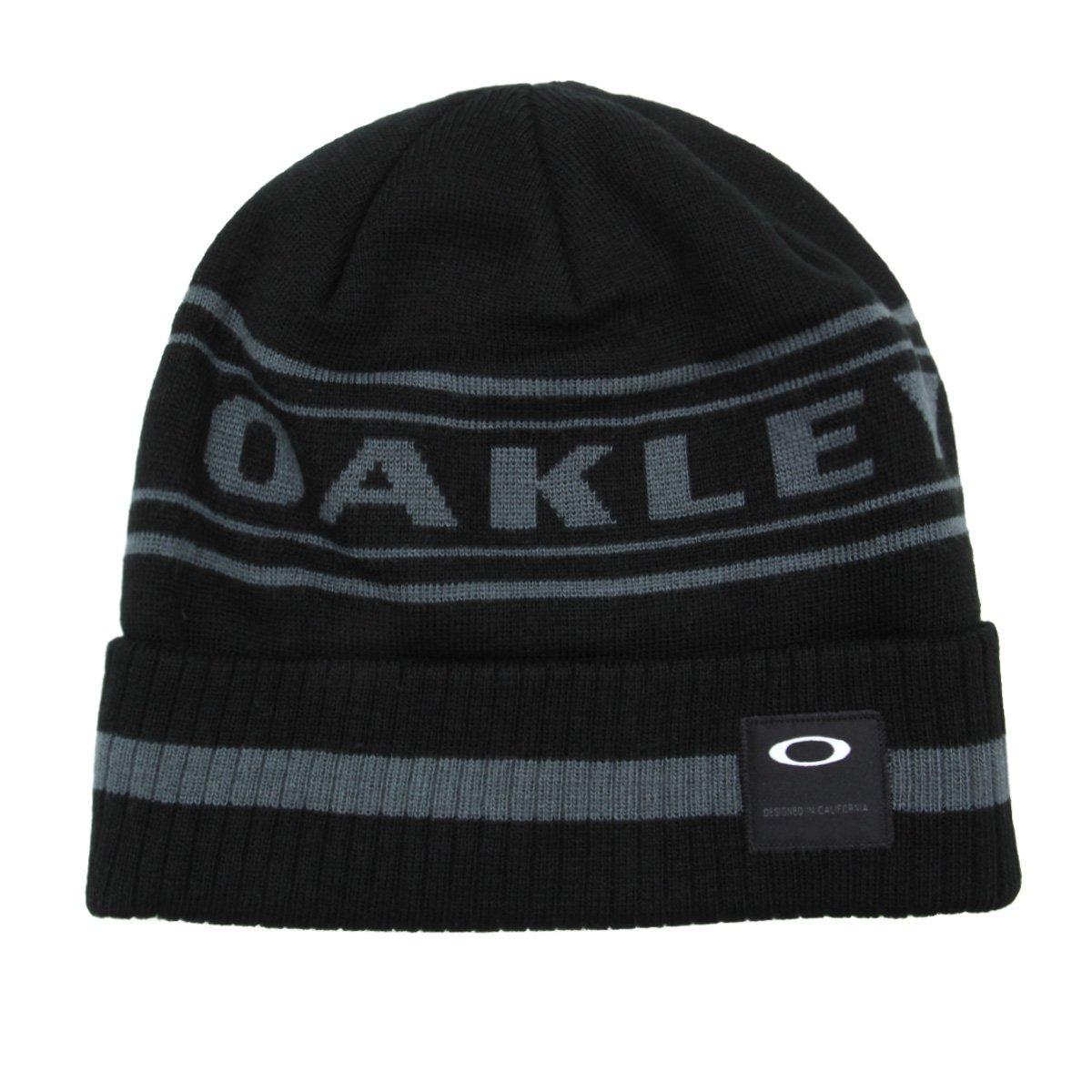 Gorro Oakley Rockgarden Cuff Beanie Masculino - Preto - Compre Agora ... 486a47111cb
