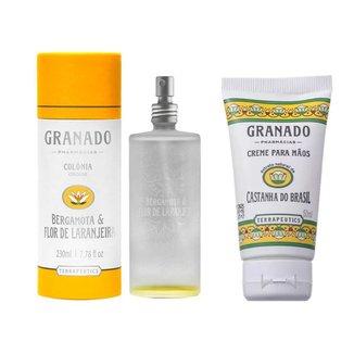 Granado Bergamota & Castanha do Brasil Kit - Colônia + Creme de Mãos Kit
