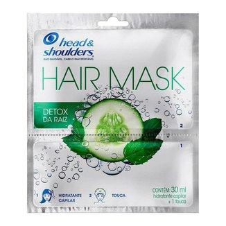 Head & Shoulders Detox da Raiz com Touca – Máscara Capilar 1Un