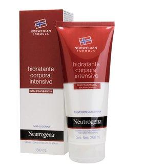 Hidratante Corporal Intensivo Neutrogena Norwegian Sem Fragrância 200ml