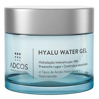 Hidratante Facial Adcos - Hyalu Water Gel 50g