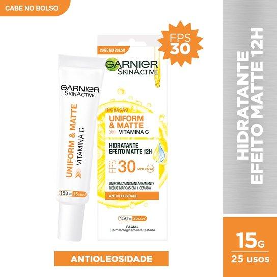 Hidratante Facial Matte Garnier Skin FPS 30 - 15g - Incolor