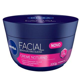 Hidratante Facial Nívea - Creme Facial Noturno 100g