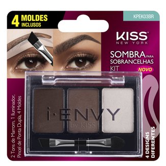 I-Envy By Kiss Kit Sombra de Sobrancelha First Kiss Kit