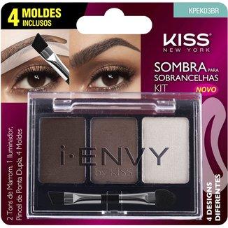 i-ENVY by Kiss Kit Sombra para Sobrancelha Medium Brown