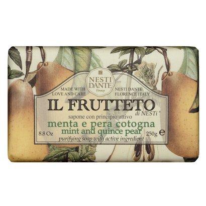 IL Frutteto Menta e Pêra Cotogna Nesti Dante - Sabonete Purificante 250g