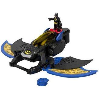 Imaginext Batwing Lançador de Projéteis - DC Super Friends com Acessórios