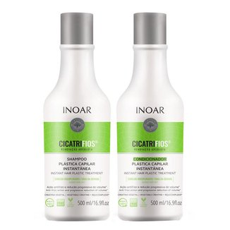 Inoar Duo Cicatrifios Kit - Shampoo + Condicionador Kit