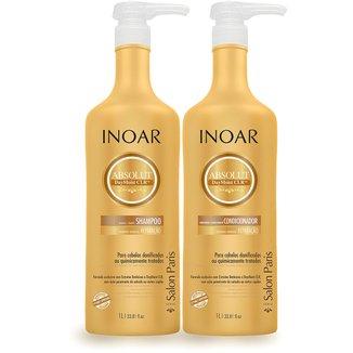 Inoar Kit DayMoist Shampoo + Condicionador 1L
