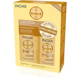 Inoar Kit Duo Shampoo 250ml + Condicionador 250ml Daymoist