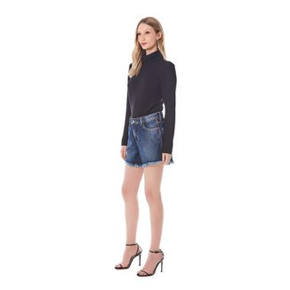 Iodice Shorts Iódice Boyfriend Detalhe Bolso Jeans