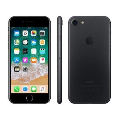 "iPhone 7 Apple 128GB Matte 4G Tela 4.7"" Retina"