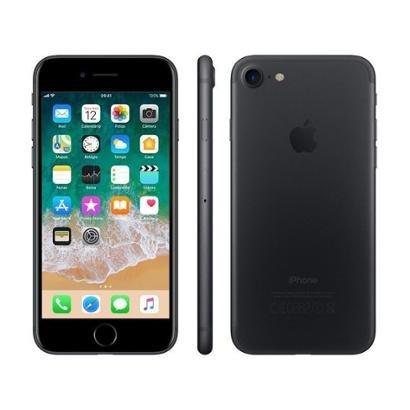 "iPhone 7 Apple 128GB Preto Matte 4G Tela 4.7"""