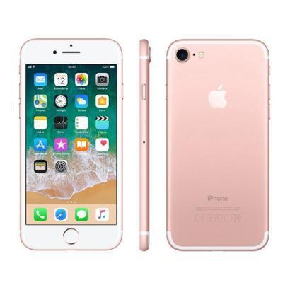 "iPhone 7 Apple 32GB Ouro Rosa 4G Tela 4.7"" Retina"