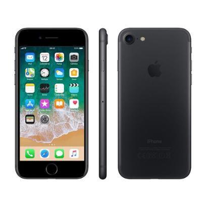 "iPhone 7 Apple 32GB Preto Matte 4G Tela 4.7""Retina"