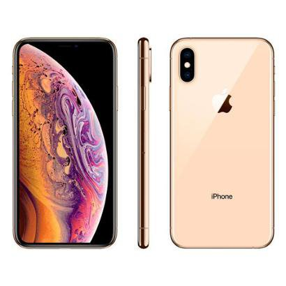 iPhone XS Apple 256GB Ouro 4G Tela 5,8 Retina Unissex-Ouro
