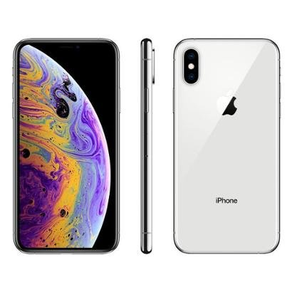 iPhone XS Apple 64GB Ouro 4G Tela 5,8 Retina Unissex-Prata