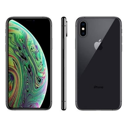 iPhone XS Apple 64GB Prata 4G Tela 5,8