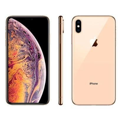 iPhone XS Max Apple 512GB Cinza Espacial 4G - Unissex