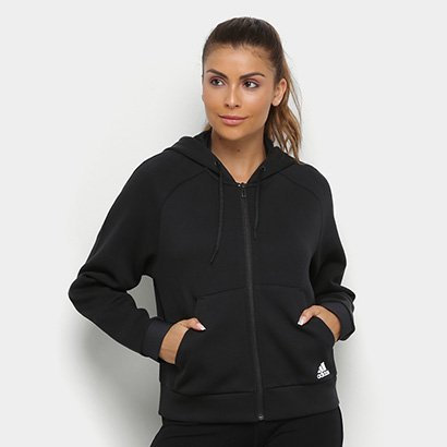 Jaqueta Adidas Mh Hoodie Feminina