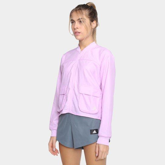 Jaqueta Adidas U4U Feminina - Lilás+Rosa