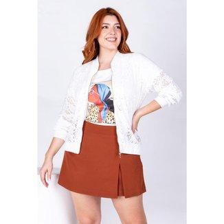 Jaqueta Bomber Almaria Plus Size Rery Laise Feminina
