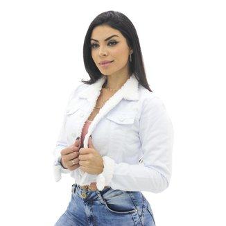 Jaqueta Branca Girl Power Naraka