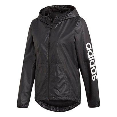 Jaqueta Corta Vento Adidas Linear Essentials Feminina