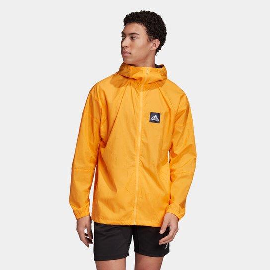 Jaqueta Corta Vento Adidas ND Masculina - Dourado