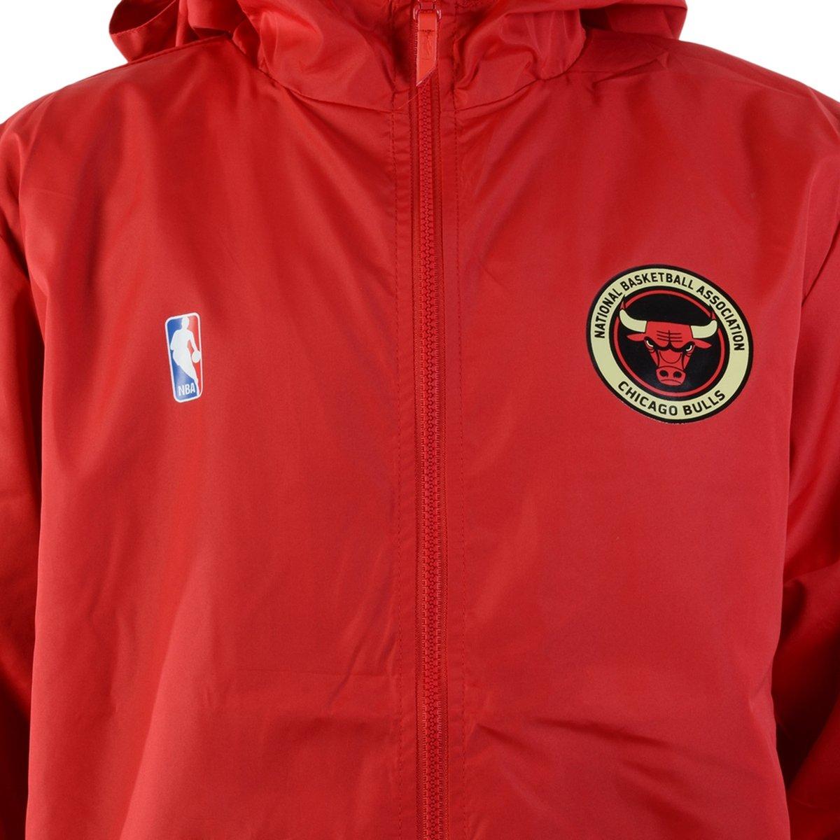 Jaqueta Corta Vento New Era Chicago Bulls Vermelho - Compre Agora ... f048452e3d634
