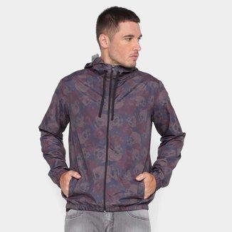 Jaqueta Corta Vento Wall Estampada Masculina