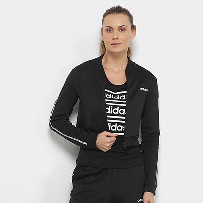 Jaqueta Cropped Adidas Oys Feminina
