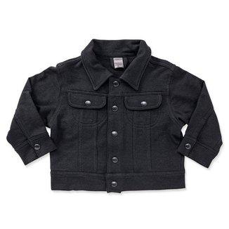 Jaqueta infantil moletom black-2-3 ANOS