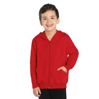 Jaqueta Infantil Unissex Capuz Rovitex Kids Vermelho 3