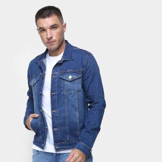 Jaqueta Jeans Calvin Klein Estonada Masculina