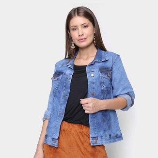 Jaqueta Jeans Cambos Alongada Feminina