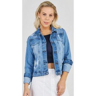 Jaqueta Jeans Express Lorena Feminina