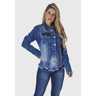 JAQUETA JEANS HNO Jeans Azul