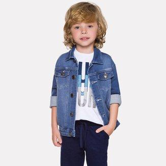 Jaqueta Jeans Infantil Milon 12291.6832.12 Milon