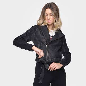 Jaqueta Jeans Lança Perfume Perfecto Feminina