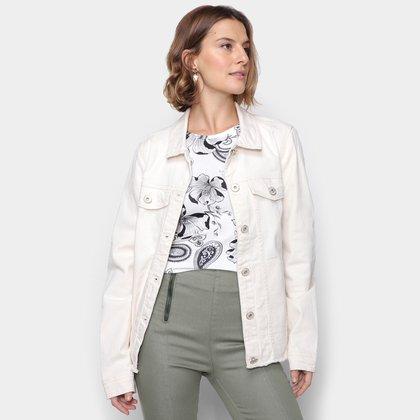Jaqueta Jeans Malwee Slim Feminina